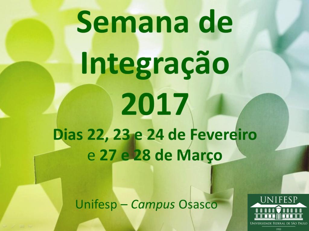 Semana de Integração 2017
