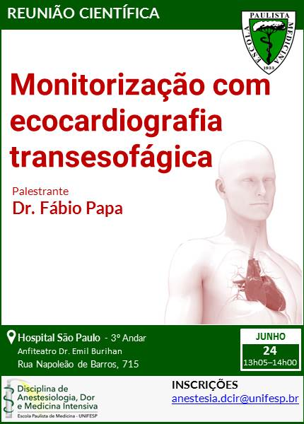 Monitorização com ecocardiografia transesofágica