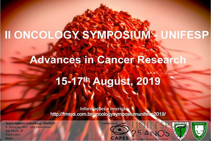 Folder Divulgacao II Oncology Symposium UNIFESP 2019