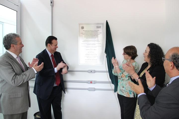 Inauguração do Laboratório de Ressonância Nuclear Magnética Nuclear Prof. Dr. Carl Peter Von Dietrich