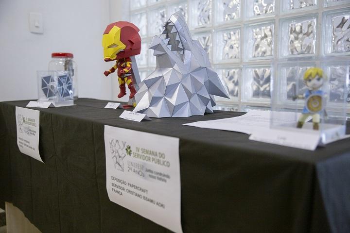 Evento conta com exposição artística de servidores da Unifesp