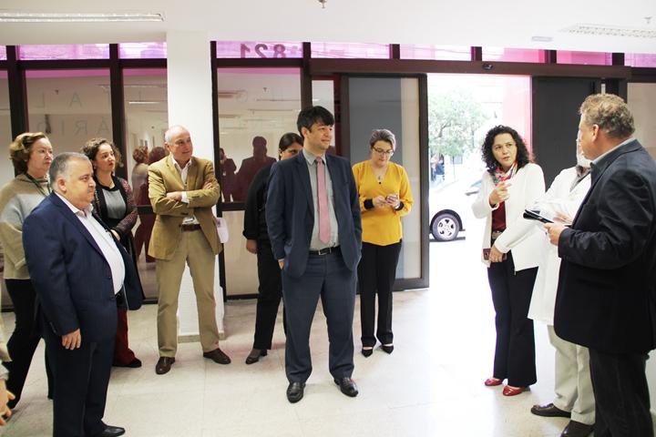 Secretário da Sesu/MEC visitando o Hospital Universitário II