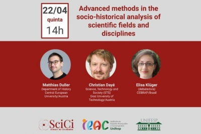 Advanced methods in the socio-historical analysis of scientific fields and disciplines