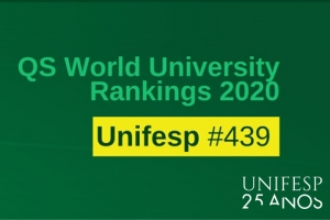 Unifesp avança posições no QS World University Rankings 2020