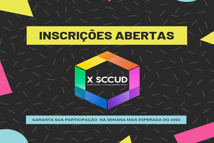 X SCCUD inscricoes